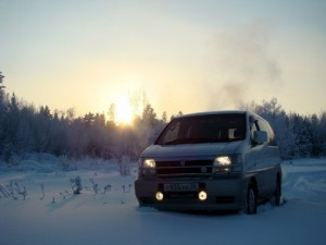 Заводим замерзший двигатель автомобиля